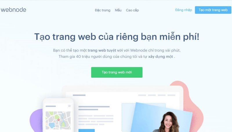 Webnode giúp bạn tạo website bán hàng miễn phí một cách chuyên sâu