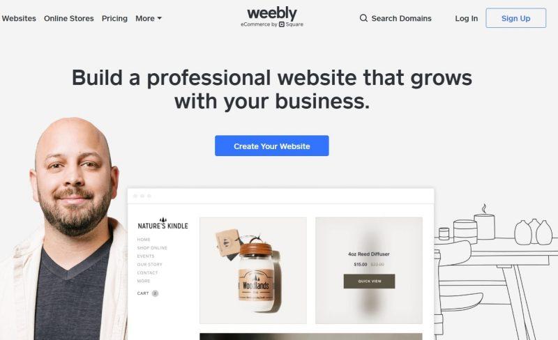 Weebly - trang web hỗ trợ tạo website bán hàng miễn phí tốt nhất