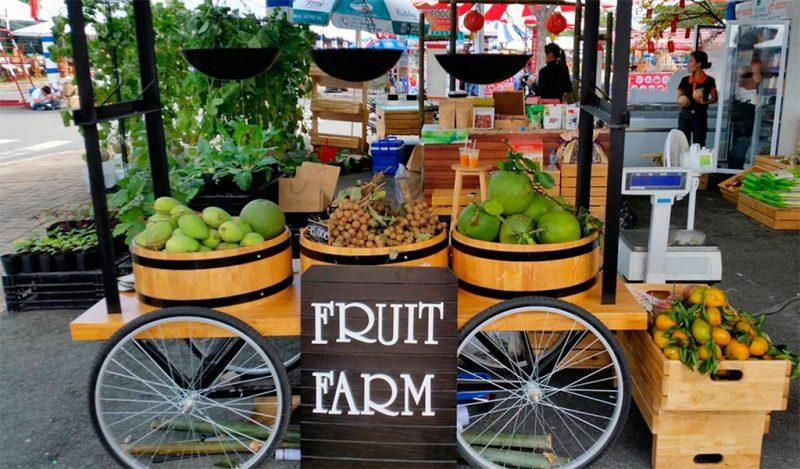 Nông sản từ cửa hàng thực phẩm sạch Fresh from Farm