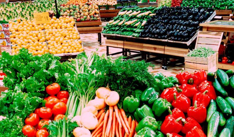Cửa hàng Thế giới nông sản đa dạng các loại thực phẩm