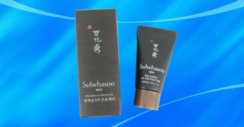 Sulwhasoo Men Relaxing UV Protector dành cho nam