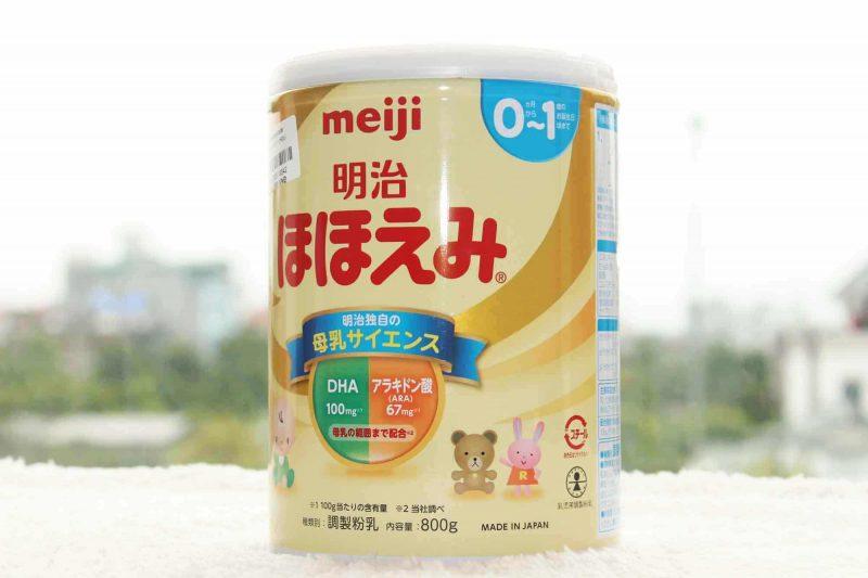 Sữa Meiji - thương hiệu nổi tiếng đến từ Nhật Bản