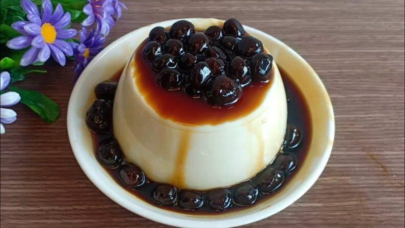 Tàu hũ trân châu đường đen - món ăn thanh mát giải nhiệt