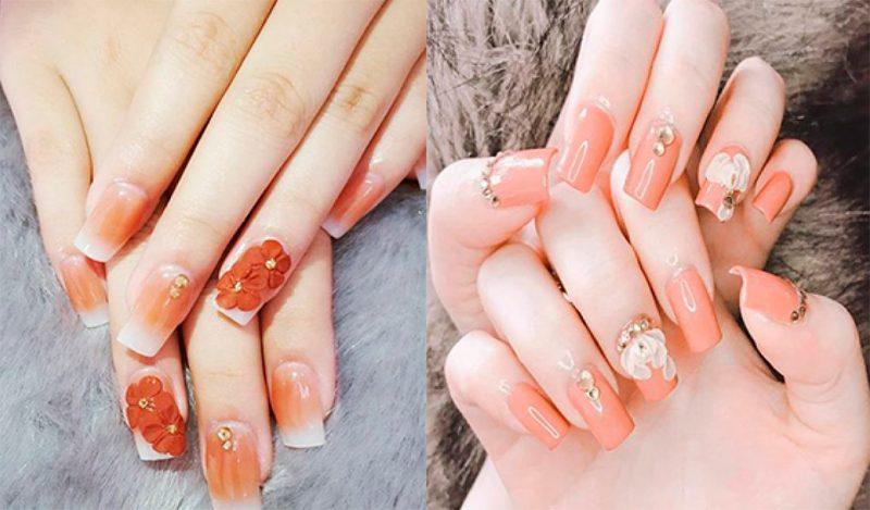 Crown Nail & Eyelash luôn mang đến những bộ nail lộng lẫy