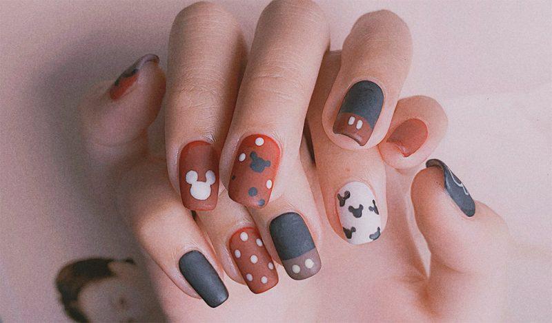 Bộ nail đơn giản dễ thương từ Eforea Salon & Spa