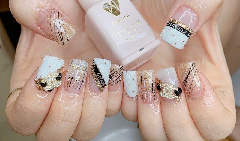 Bộ nail đẹp từ Trang Nail Care