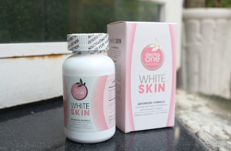 Viên uống trắng da Derma One White Skin 60 viên