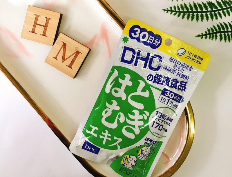 Viên trắng da DHC Coix Extract của Nhật Bản