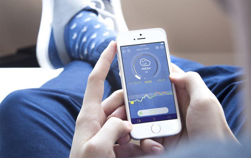 App đo ô nhiễm không khí sử dụng trí tuệ nhân tạo