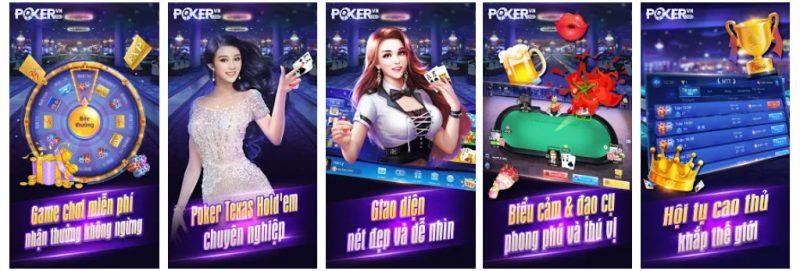 Chơi game bài trên Poker Pro.VN