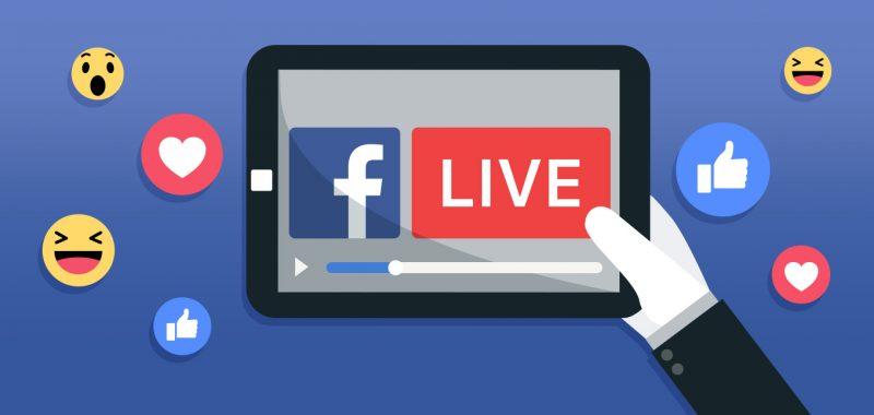 Facebook Live - phần mềm live stream được nhiều người sử dụng