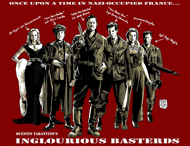 Inglourious Basterds - chiến tranh, máu và sự tàn khốc