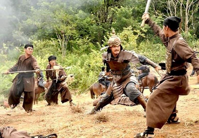 Cảnh cắt trong phim Khát vọng Thăng Long