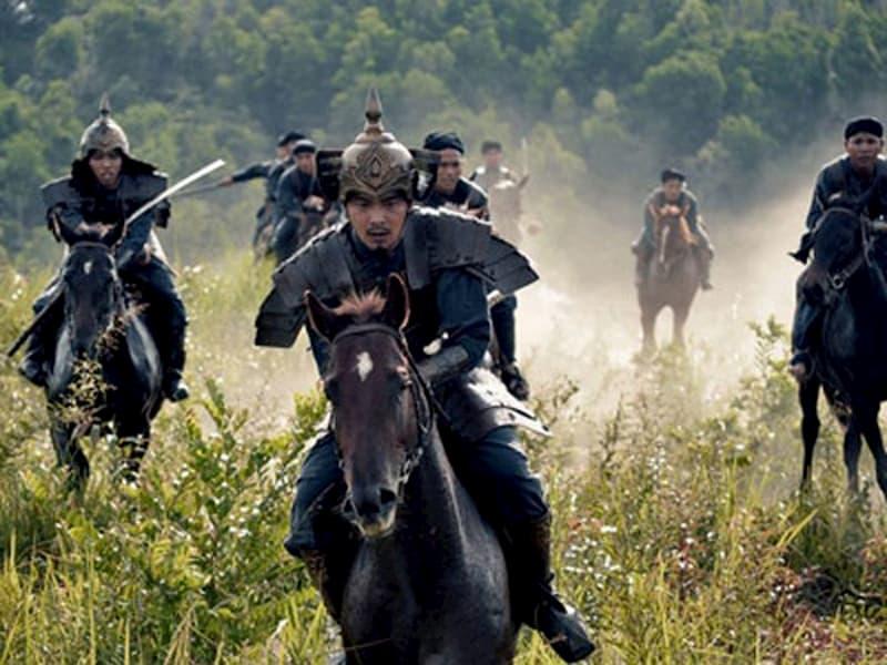 Cảnh trong phim Khát vọng Thăng Long