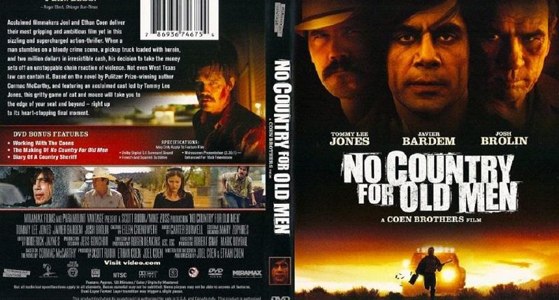 Đứng thứ 10 của Top 100 bộ phim vĩ đại nhất thế kỷ 21 là No Country for Old Men