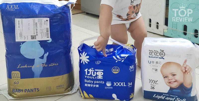 Tã bỉm nội địa Trung Quốc tốt chất lượng cao không thua kém các thương hiệu lớn của Nhật, Hàn hay Mỹ phổ biến tại Việt Nam