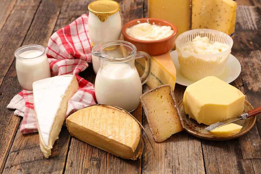 Sữa và thực phẩm làm từ sữa chứa nhiều canxi và vitamin D giúp thúc
