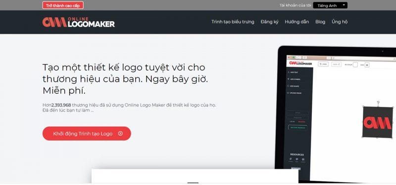 Online Logo Maker giúp việc thiết kế logo trở nên đơn giản hơn