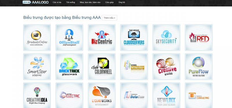 AAA Logo phần mềm thiết kế logo chuyên nghiệp
