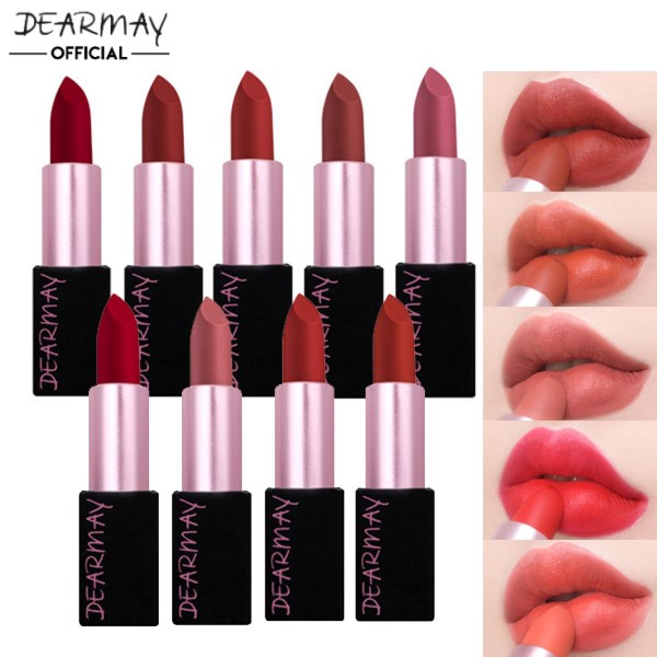 Dear May Breeze Matte Lipstick - #01 Real Garnet