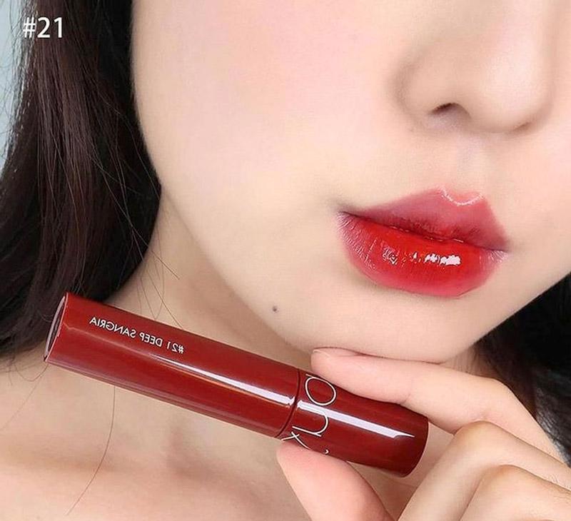 Romand #21 Deep Sangria đỏ lịm ngọt ngào