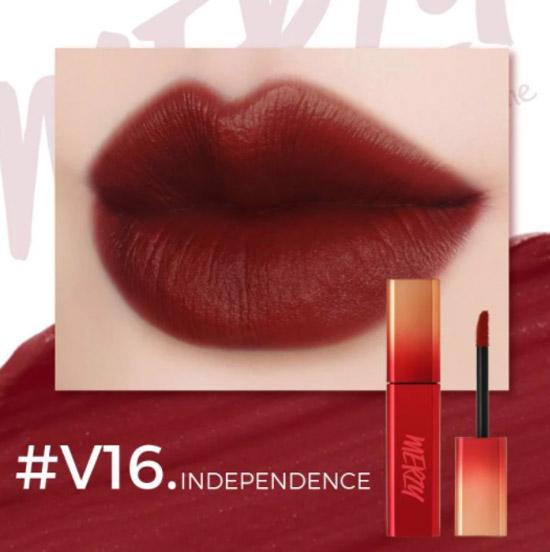 Son Kem Lì Merzy The First Velvet Tint #V16 Independence