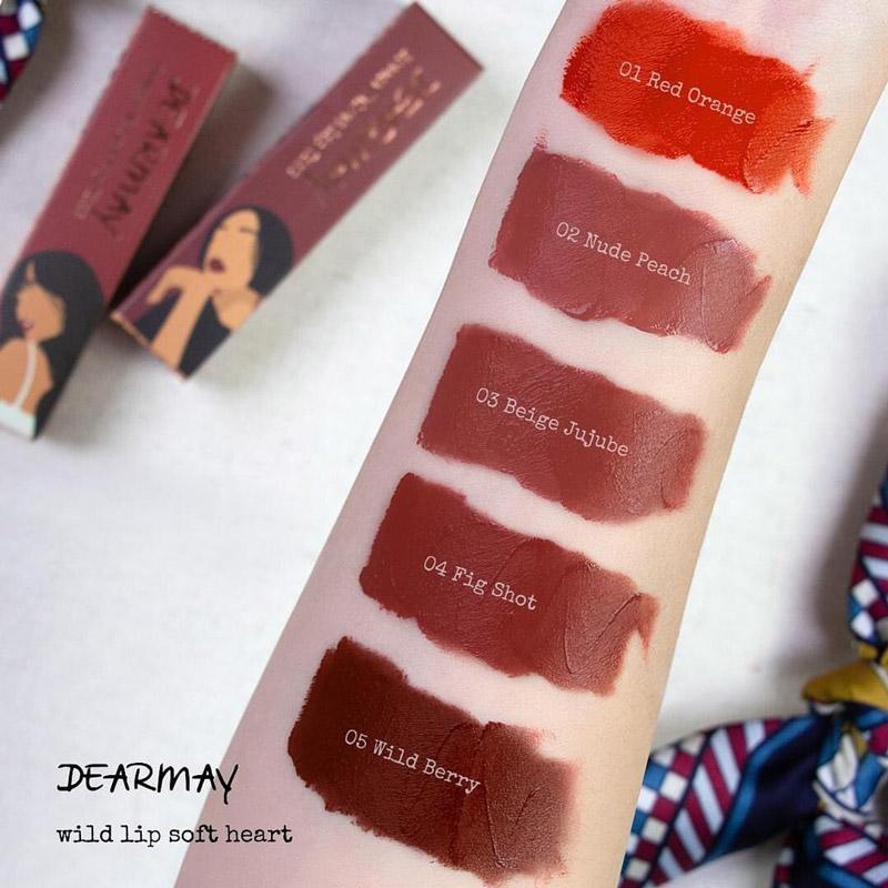Son môi Dear May Velvet Breeze Lip Tint đang làm mưa làm gió trên thị trường