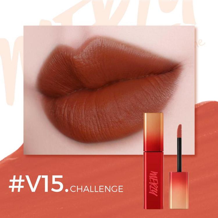 Son V15. Challenge của hãng mỹ phẩm Merzy