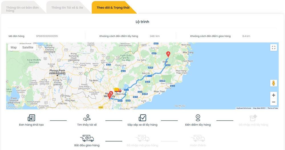 TaaS Truck - phần mềm quản lý vận tải miễn phí hàng đầu Việt Nam