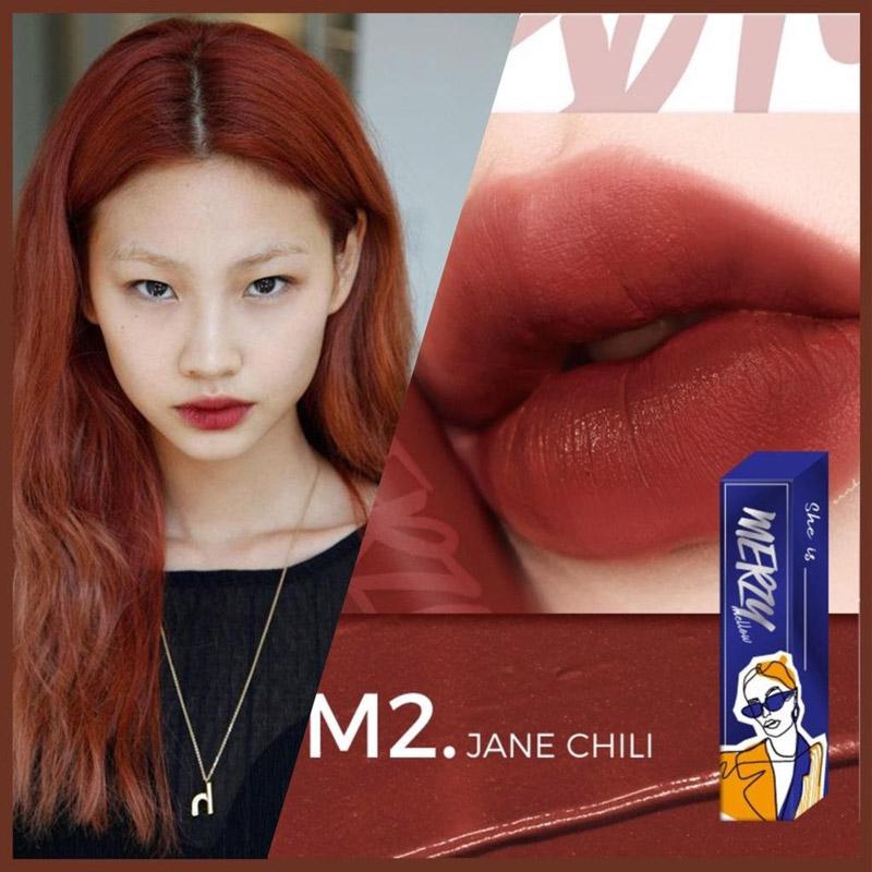Thỏi-Jane-Chili-mang-sắc-đỏ-nâu-gạch-trầm-ấm